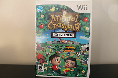 Animal Crossing: City Folk  (Wii, 2008) *Tested/Complete