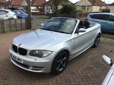Bmw 118d convertible 2008 private plate cheap to clear plate includedl