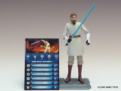 STAR WARS Obi-Wan Kenobi JEDI KNIGHT CLONE COLLECTION CW40 TCW SOTDS LOOSE