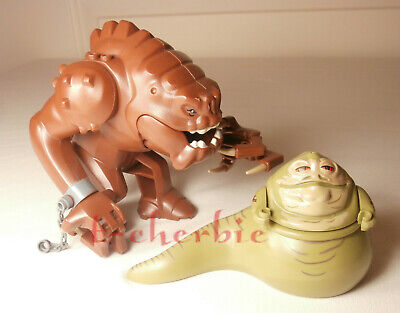 Jabba the Hutt & Rancor Star Wars Minifigures The Last Jedi Clone Wars Rise of