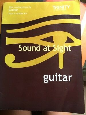 Trinity Guitar Books; Scales Initial To Grade 5 & Sound At Sight Sight reading