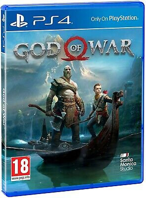 God of War - Sony PlayStation 4 PS4 - New and Sealed PEGI UK product