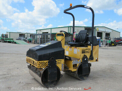 2012 Mulitquip AR13HA Smooth Double Drum Ride On Vibratory Roller Compactor MQ