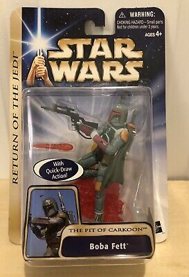 Boba Fett The Pit of Carkoon 2002 STAR WARS Saga Collection MOC #8 08