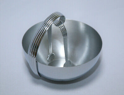 CHASE CHROME ICE BOWL with TONGS ART DECO – RUSSEL WRIGHT