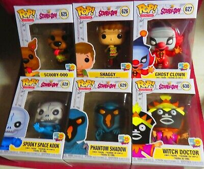 """Brand New Pop Animation, From """"50 Years Of Scooby-Doo, Set Of All 6,  In Hand!"""