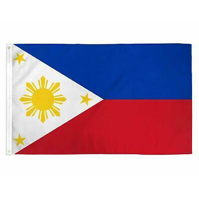 PHILIPPINES FILIPINO FLAG 3x5 FT National Country Banner Pinoy With Grommets