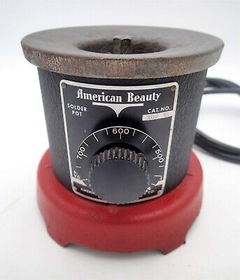 American Beauty General Purpose Solder Pot Model 300 (120V/320W) Soldering