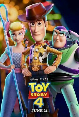 Toy Story 4 Authentic DS 27x40 Disney Original Movie Payoff #2 Poster