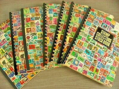 BRITISH COLONIES, WW, Excellent Accumulation of Stamps in 7 small Stockbooks