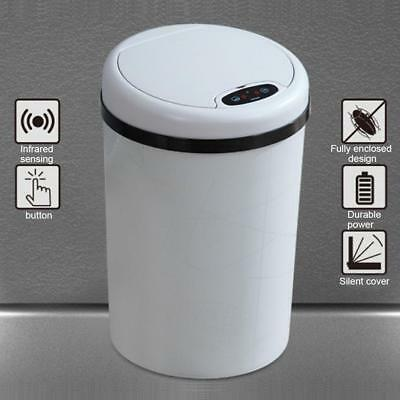 45L Stainless Steel Mult 3 Compartment Large Recycling Dust Bin Recycle office
