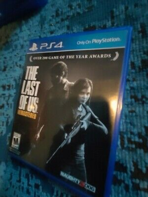 The Last of Us Remastered PS4 Playstation 4
