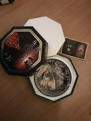 Star Wars Collectors Plate Limited Edition Episode One