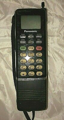 Rare Vintage Panasonic Brick Mobile Cell Phone Model # EB-3500 with Battery