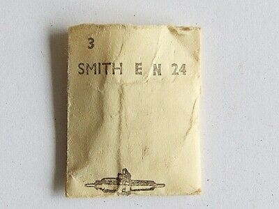 Three Smiths EN24 clock balance staffs RONDA No. 2759. New old stock