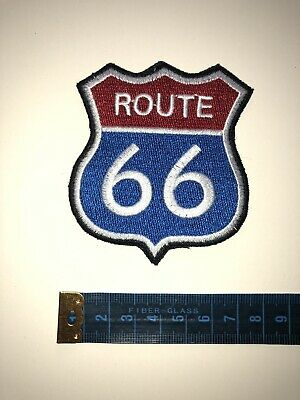 88 x 88 mm Route 66 Arizona usa Mainstreet Road Patch Patch aufbügler 0753 X