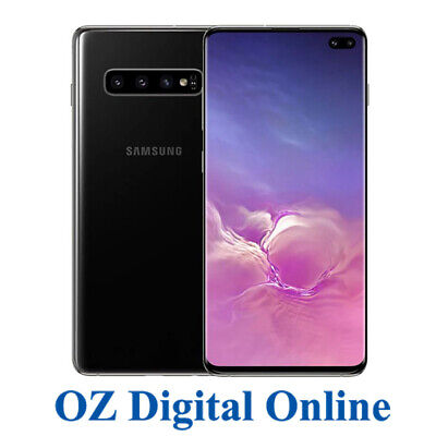 NEW Samsung Galaxy S10+ Plus Dual G975FD 1TB 12GB Ram Black 4G Unlocked Phone