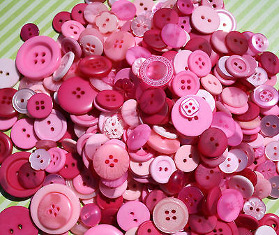 Hand Dyed Buttons in Color Mix Lot of 50-Crafts sewing art scrapbook