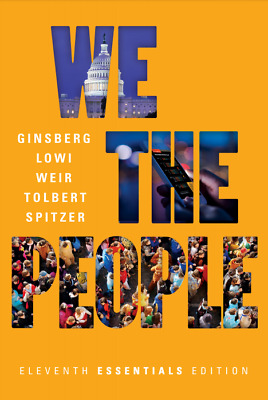 We the People 11th Edition 2017 Ginsberg Lowi Weir Tolbert [P.D.F]
