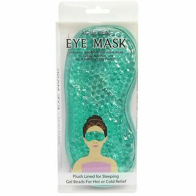 1 x Eye Mask for Sleeping Gel Beads Hot or Cold Relief Soothe Prevent Puffiness
