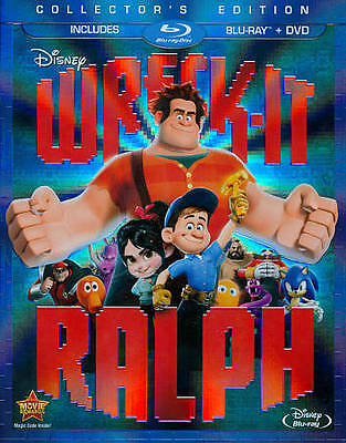 Wreck-It Ralph    (Blu-Ray Disc, 2013)   Disney  Collector's Edition  Children's