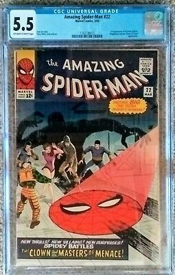 Amazing Spider-Man 22--- Cgc 5.5