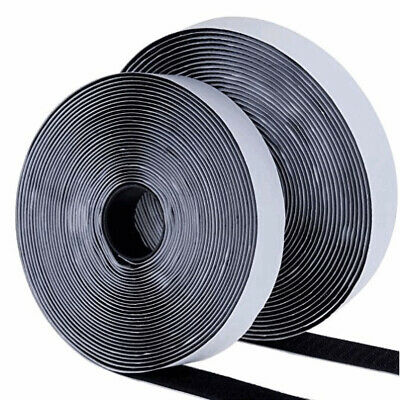 2cm*8m Self Adhesive Tape Hook and Loop Fastener Extra Sticky Reusable 1 Roll