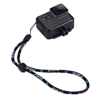CO_ KQ_ Universal Neck Hand Wrist Strap Hanging Lanyard for GoPro Action Cameras