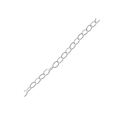 Silver Overlay Beading & Extender Chain CHSF-330-4MM-IT