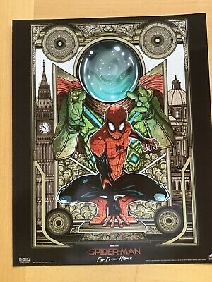 SPIDERMAN Poster Far From Home - Official Odeon Movie Glossy A4 Limited edition