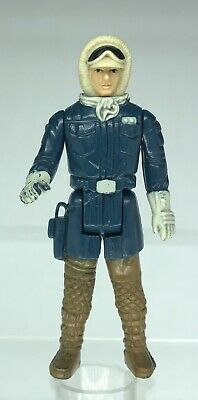 Star Wars Vintage Han Solo Hoth Poch Chocolate Legs Non Sonic Welded Very Rare