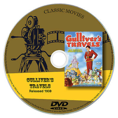 Gulliver's Travels - Animation, Adventure, Comedy Fim DVD 1939