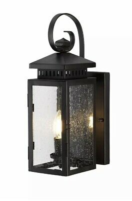 Elstead Hythe Wall Lantern 1 x 60W E14 220-240v 50hz IP43 Class I