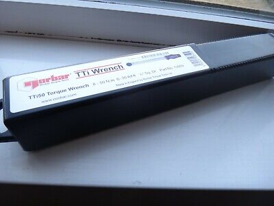 Norbar Wrench - 13659 TTi50 Torque Wrench 1/2in Sq Drive 8 - 50 Nm 6 - 35 lbf.ft
