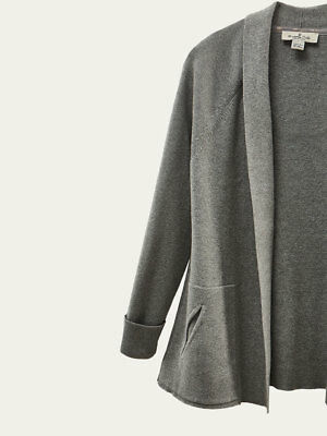 Massimo Dutti Girl's Grey Cardigan Top 9-10 Years Brand New With Tags BNWT