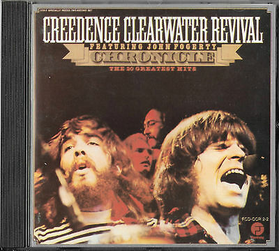 Creedence Clearwater Revival Chronicle Vol 1 Cd Erstauflage / John Fogerty