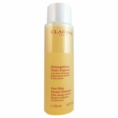 Clarins One Step Facial Cleanser with Orange Extract All Skin Types 200 ml 6.8 o