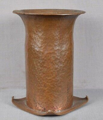 Arts & Crafts HAMMERED COPPER VASE