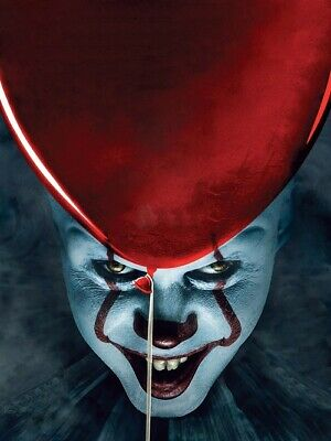 "It Chapter 2 Poster 2019 Movie Stephen King Horror Art Film Print 24x36"" 27x40"""