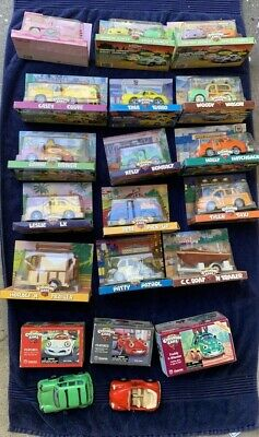 Chevron Cars Lot 20 Pieces In Box Sam Wendy Tony Horace Pete Freddy 1990s