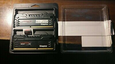 Kingston HyperX 8gb (2x4gb) ddr3 2400 cl11 ram KHX24C11T3K2/8X