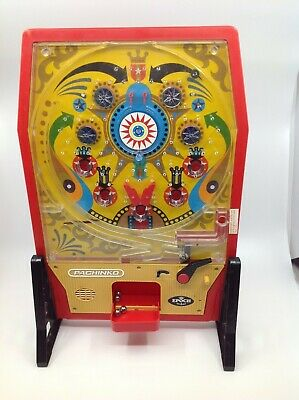 Vintage 1975 EPOCH Japanese Pinball SUPER PACHINKO Pinball Game