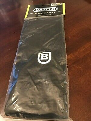 NEW Battle Sports Cleat Sleeve Spat Cover Black Adult S/M Fits Size 8.5-10 Cleat