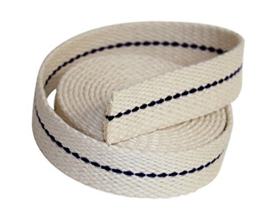 15ft 3//4/' Flat Cotton Oil Lamp Wick Roll For Oil Lamps Lanterns/_WK