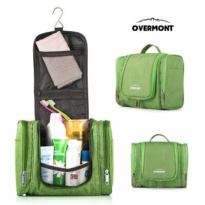Waterproof Travel Cosmetic Storage MakeUp Bag Fold Hang Toiletry Organizer Pouch