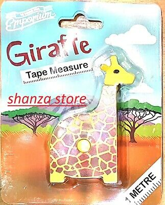 Giraffe Tape Measure by The Wonder Bros. Emporium - best 1 Metre Long - Ages 3+
