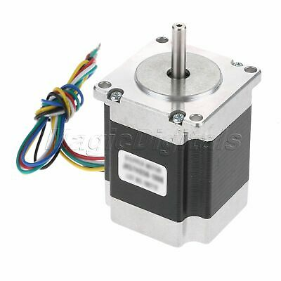NEMA23 1.8° 2-Phase 4-Wire 60mm 0.55N.m/77.5oz.in Bipolar Stepper Motor 2.8A
