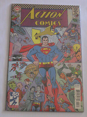 Superman Action Comics 1000 1960s variant cover by M&L Allred VF/NM or best
