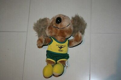 Vintage Australian Olympic Team Mascot Willy Olympics Games Australia 28 Cm