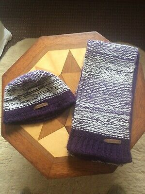 Berghaus Unisex One Size Scarf And Hat Set Excellent Condition